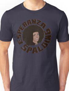 Esperanza Spalding Comic Portrait Unisex T-Shirt