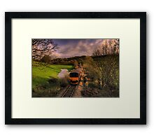 Taw Valley Framed Print