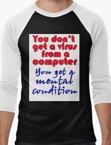 VIRUS Men's Baseball ¾ T-Shirt