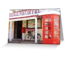 The Old Post Office Greeting Card