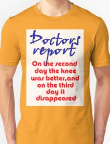 THE DISAPPEARING KNEE T-Shirt