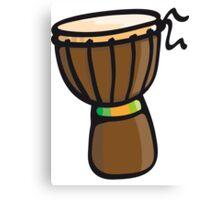 Djembe Drum Canvas Print