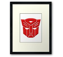 Autobot Framed Print