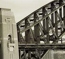 Harbour Bridge Pylon by MrsGJ