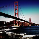 Golden Gate Bridge  by Cyntain