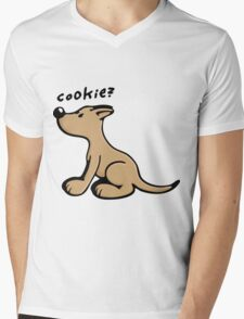 Dog wants a Cookie Mens V-Neck T-Shirt