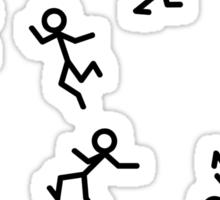 Dancing Stickmen Sticker