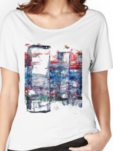 In the Midst of Life. Layer after Layer. The Family: mother with two kids.  Women's Relaxed Fit T-Shirt