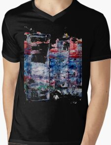 In the Midst of Life. Layer after Layer. The Family: mother with two kids.  Mens V-Neck T-Shirt
