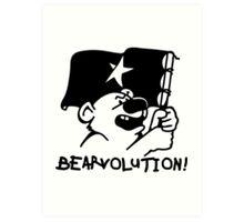Bear Revolution Art Print