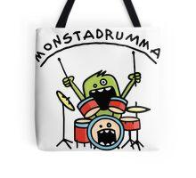 Monster Drummer Tote Bag