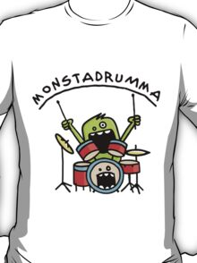 Monster Drummer T-Shirt