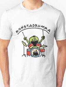 Monster Drummer Unisex T-Shirt