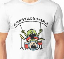 Monster Drummer Unisex T-Shirt