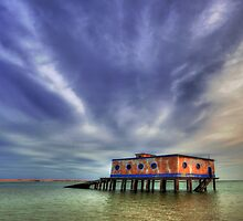Lifeboat House by manateevoyager