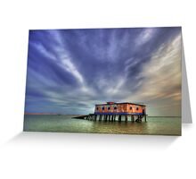 Lifeboat House Greeting Card