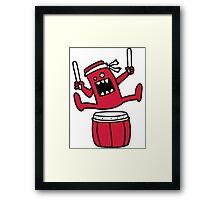 Taiko Monster Framed Print