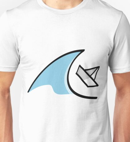 Sailboat in the Waves Unisex T-Shirt