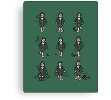 Hobbit Feet Canvas Print
