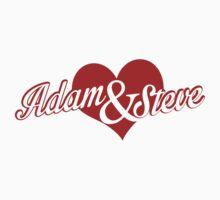 Adam and Steve by HereticWear