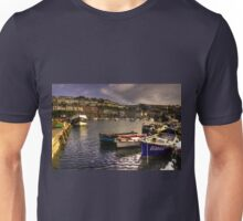 Boats at Brixham Unisex T-Shirt