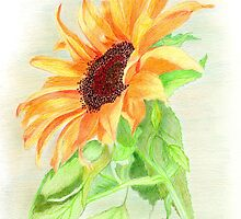 Sunshine on a Petal by Linda Ginn Art