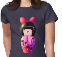 Cute Kokeshi Womens Fitted T-Shirt