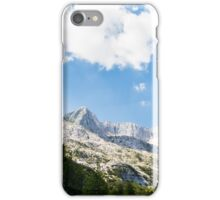 summer day on alps iPhone Case/Skin