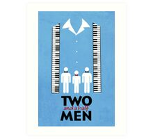 Two and a Half Men Art Print