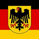 Iphone Case -  State Flag of Germany  by Mark Podger