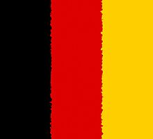Smartphone Case - Flag of Germany - Painted by Mark Podger