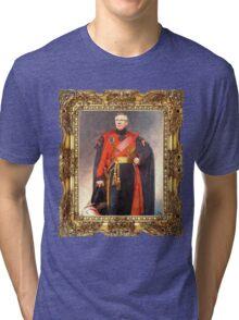Sir Alex Ferguson, C-in-C Tri-blend T-Shirt