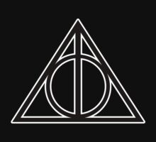 Deathly Hallows - Small with white outline by apxq12