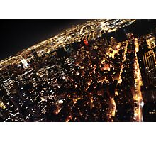 NY - view from empire state, tilt-shift Photographic Print