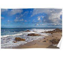 Pacific Grove Seascape I Poster