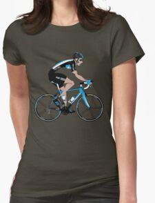 Bradley Wiggins Team Sky Womens Fitted T-Shirt