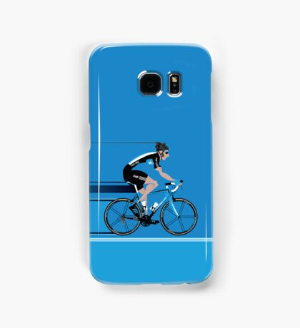 Bradley Wiggins Team Sky Samsung Galaxy Case/Skin