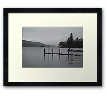 Bowness Unplugged Framed Print
