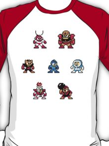 Megaman surrounded 1 T-Shirt