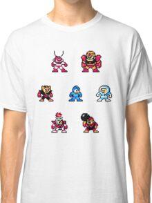 Megaman surrounded 1 Classic T-Shirt
