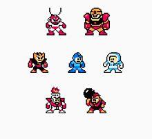 Megaman surrounded 1 Unisex T-Shirt