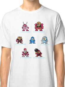 Megaman surrounded 1 with text Classic T-Shirt