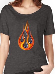 Flame Drop Women's Relaxed Fit T-Shirt