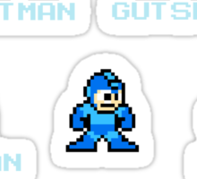 Megaman Who will you fight Sticker