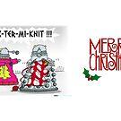 EX-TER-MI-KNIT by ToneCartoons