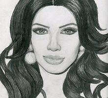 Kim Kardashian by Kashmere1646