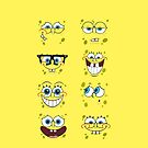 Spongebob Squarepants Faces by gleviosa