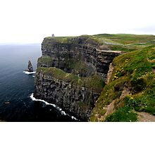 """""""Cliffs of Moure"""" Photographic Print"""