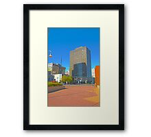 Crowne Plaza Downtown St. Paul HDR Framed Print
