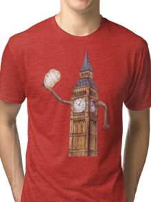 Big Ben the Time Keeper of London Tri-blend T-Shirt